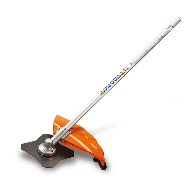 Stihl FS-KM Brushcutter with Grass Blade Attachment (4140 200 0472)
