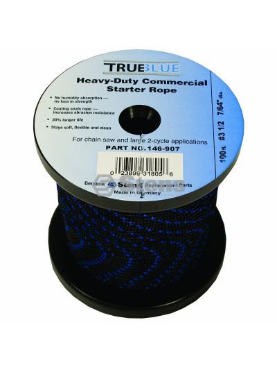 100' Starter Rope #3 1/2 Solid Braid