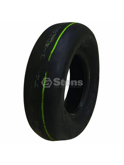 Tire 8x3.00-4 Smooth 4 Ply