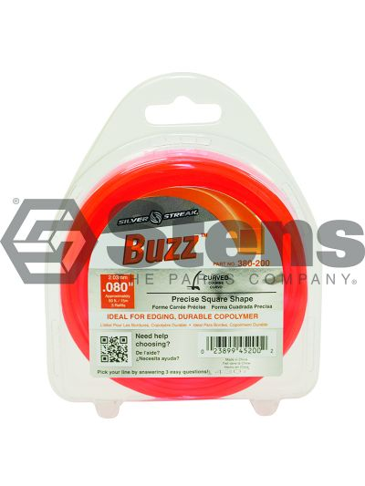 Buzz Trimmer Line .080 50' Clam Shell