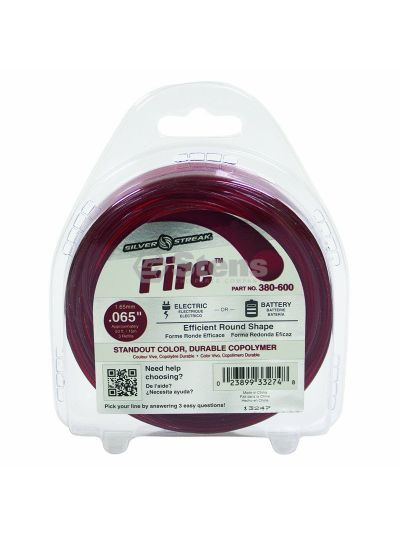 Fire Trimmer Line .065 50' Clam Shell