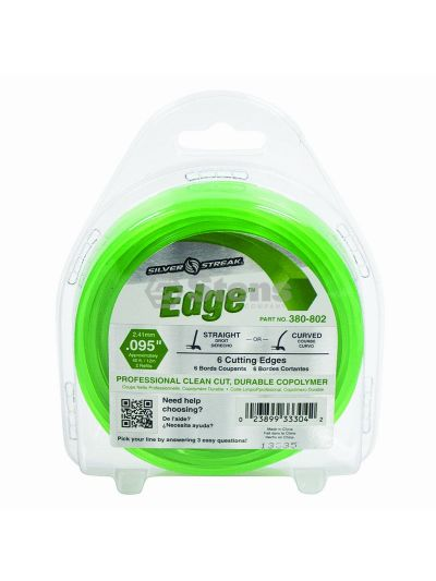 Edge Trimmer Line .095 40' Clam Shell