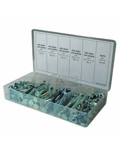Cap Screw Kit 130 Piece Kit