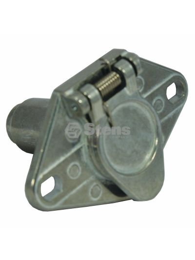 6-Way Truck End Connector Round Pole