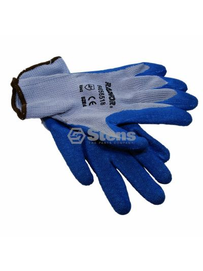 Heavy-Duty Glove Rubber Palm Coated String Knit