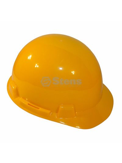 Yellow Hard Hat 6 Point Suspension-Ratchet