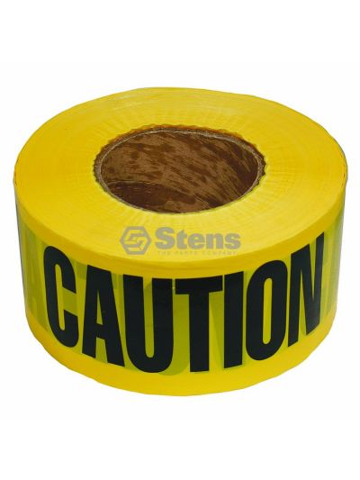 Barricade Caution Tape 2 Mil. Black/Yellow