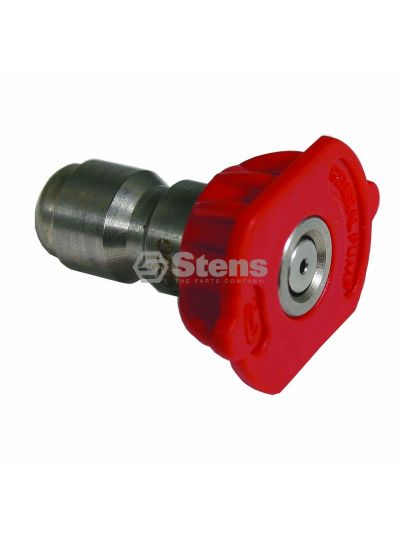 Quick Coupler Nozzle 0 Degree, Size 5.5, Red