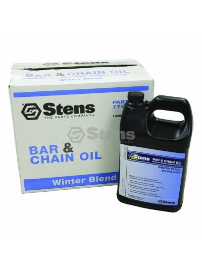 Winter Bar & Chain Oil By The Case, Four 1 gal. bottles