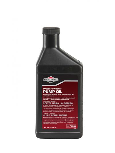 Briggs Pressure Washer Pump Oil (6033)