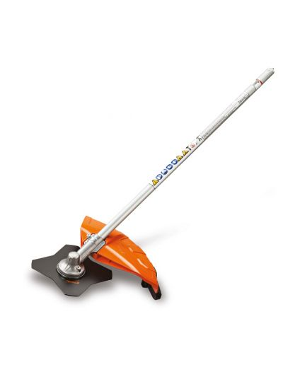 Stihl FS-KM Brushcutter with 4 Tooth Grass Blade KombiSystem Attachment | Stihl Dealer Serving McKinney