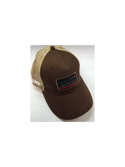 Richardson Saw Brown and Tan Mesh Back Hat