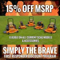 Discount on Scag Lawn Mower